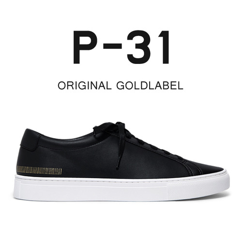 P-31 ORIGINAL GOLDLABEL 5.5CM - 블랙스니커즈